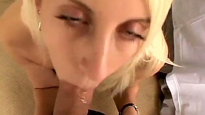 Pov blowjob from Desiree Moore at her audition